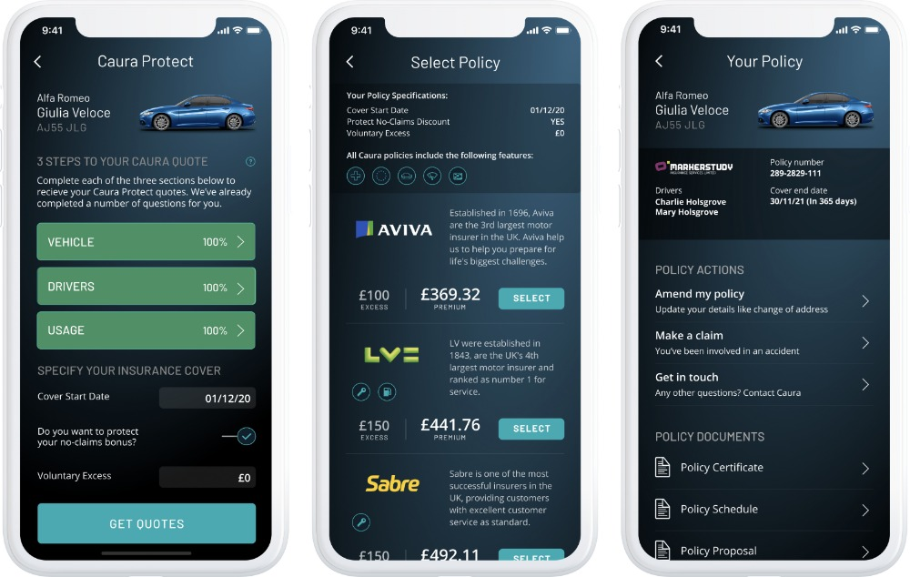 Caura adds mobile-first motor insurance product to all-in-one car management app